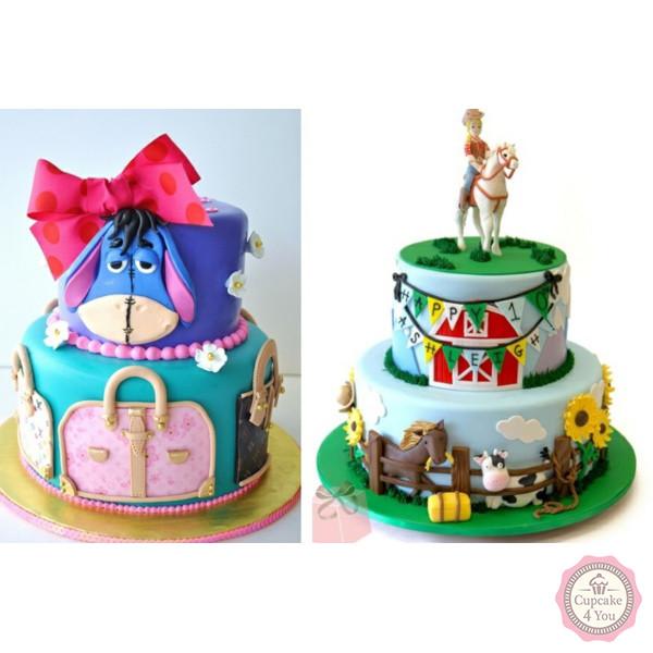 Kuchen Torten 97 - Kindergeburtstagstorten