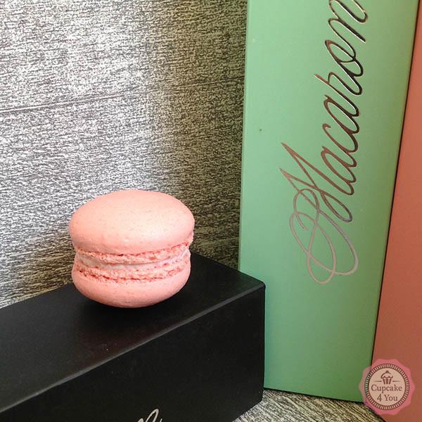 Erdbeere Macaron - Macarons