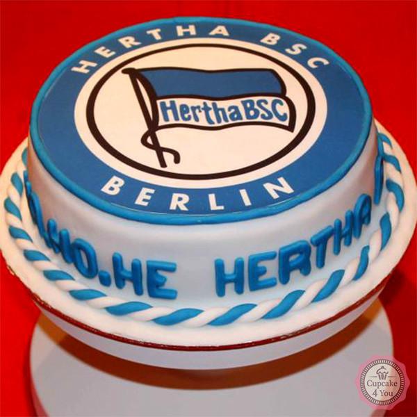Hertha BSC - Fussballtorte - Fussballtorten