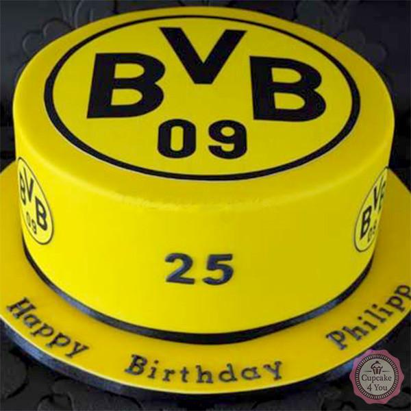 Borussia Dortmund - Fussballtorte - Fussballtorten