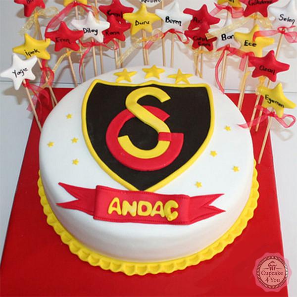 Galatasaray S.K. Istanbul - Fussballtorte - Fussballtorten