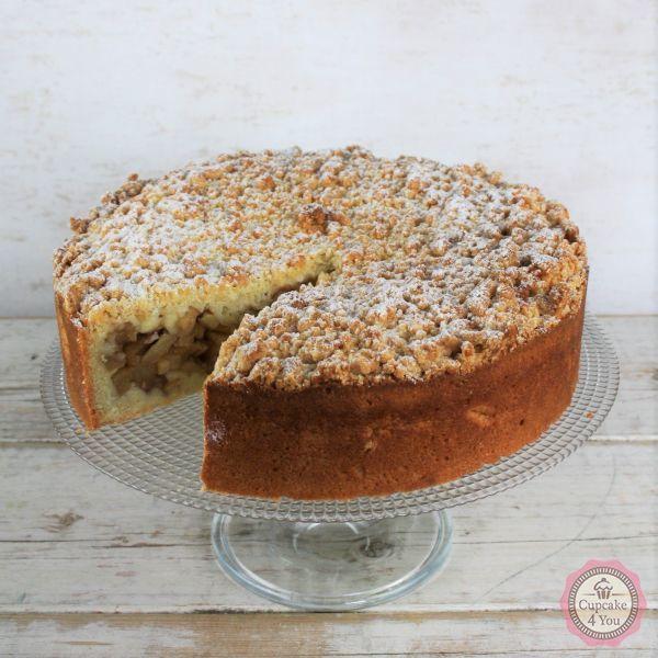 Apfelkuchen mit Streusel - Kuchen/Torten