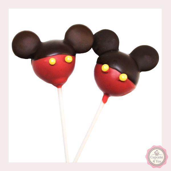 Cake Pop - Micky Maus - Cake Pops