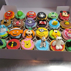 Walt Disney Cupcakes