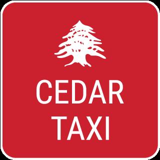 Cedar Taxi logo