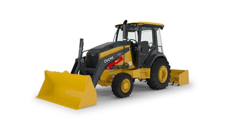 John Deere 210L Tractor Loader