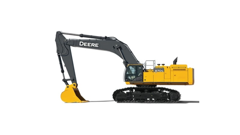 John Deere 870G LC Large Excavator