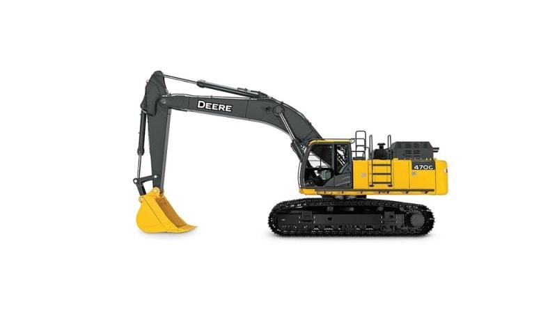 John Deere 470G LC Large Excavator