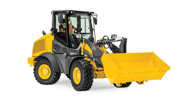 John Deere 324L Compact Wheel Loader