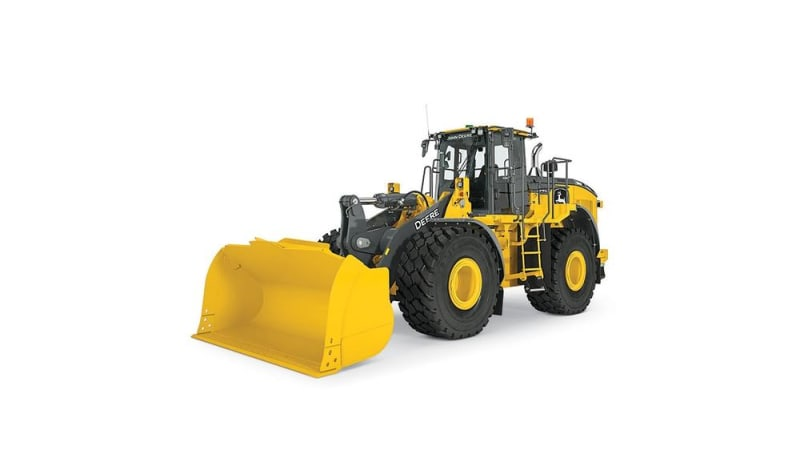 John Deere 744L Large Wheel Loader