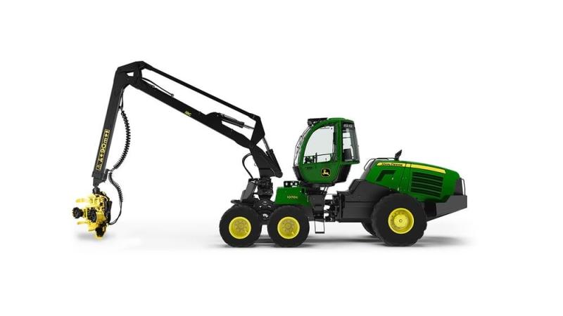 John Deere 1070G Wheeled Harvester
