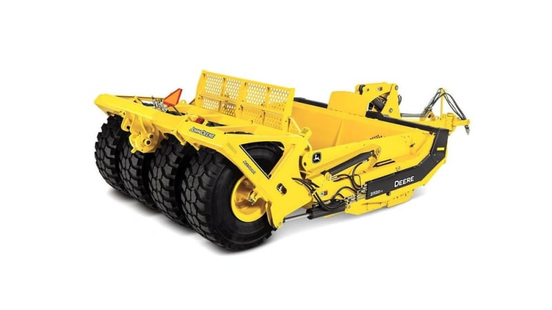 John Deere 2112DC Carry-All Scraper