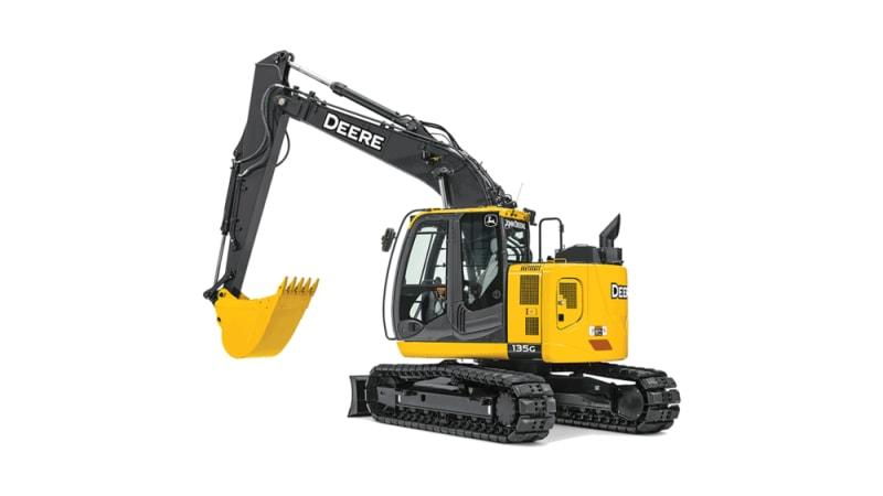 John Deere 135G Mid-Size Excavator