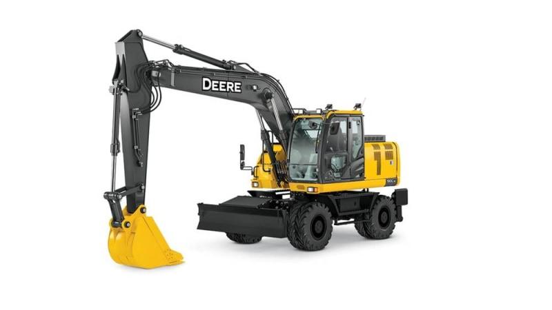 John Deere 190G W Mid-Size Excavator