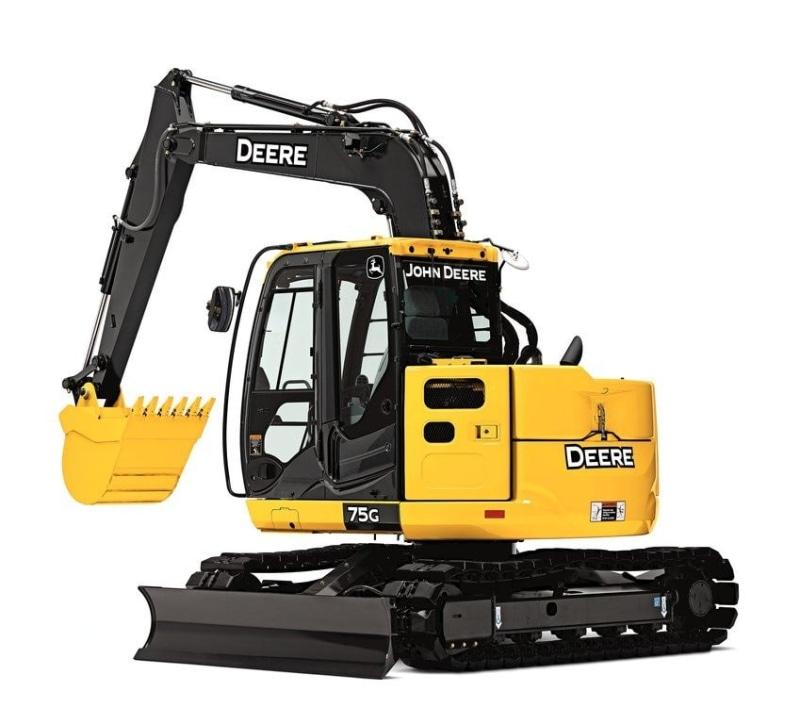 John Deere 75G Mid-Size Excavator