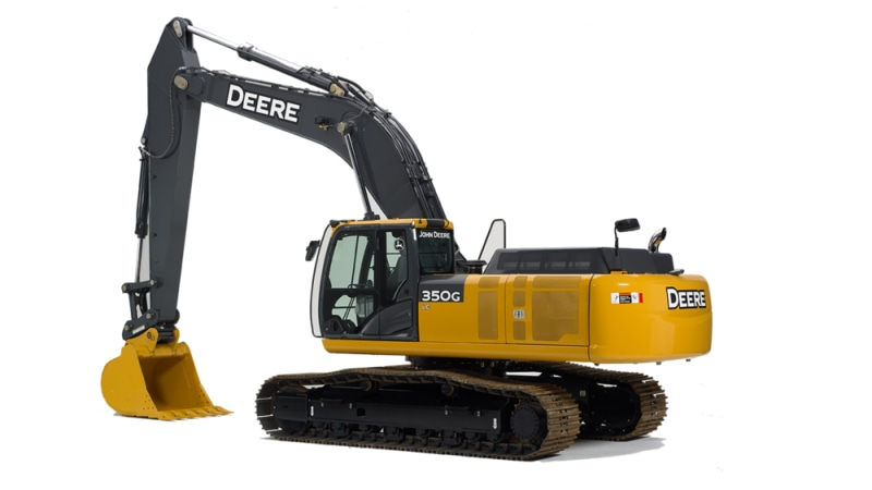 John Deere 350G LC Mid-Size Excavator
