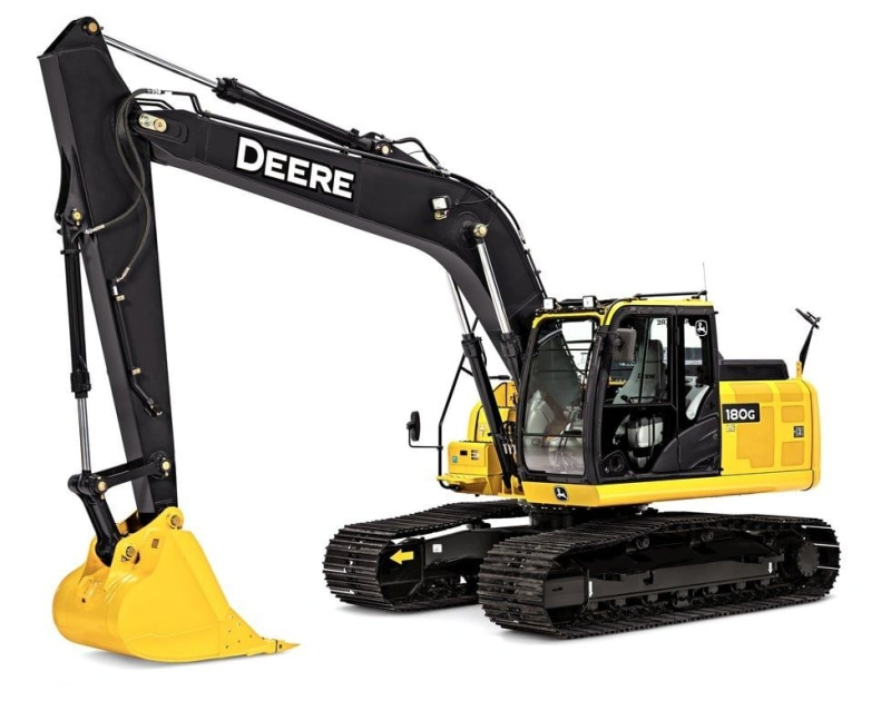 John Deere 180G LC Mid-Size Excavator