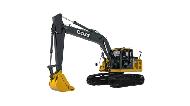 John Deere 160G LC Mid-Size Excavator