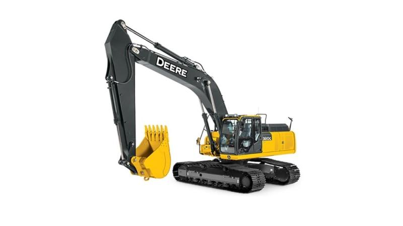 John Deere 380G LC Mid-Size Excavator
