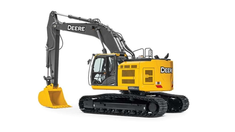 John Deere 345G LC Mid-Size Excavator