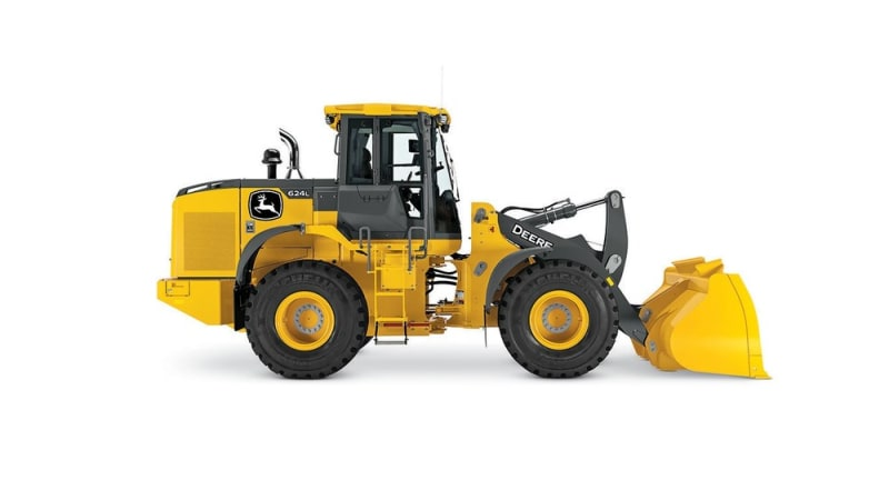 John Deere 624L Large Wheel Loader