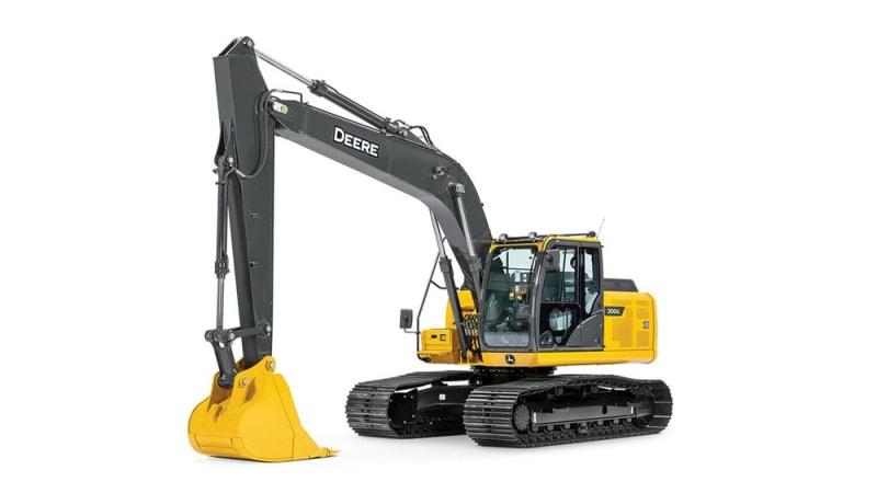John Deere 200G Mid-Size Excavator