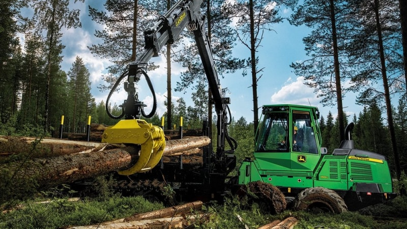 John Deere 1110G Forwarder