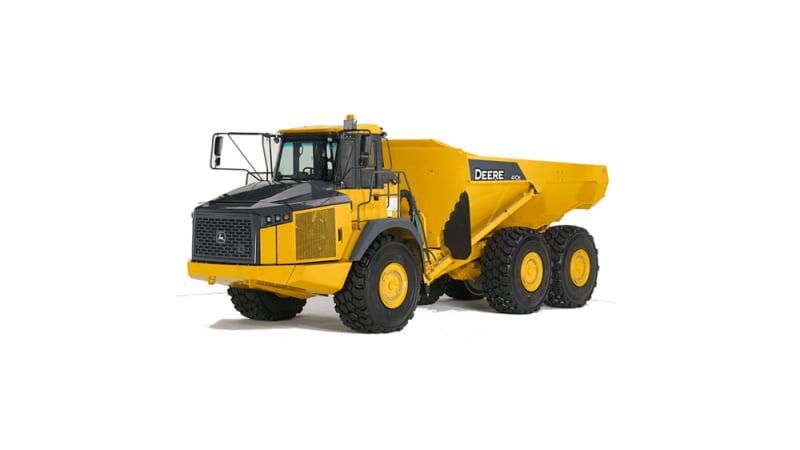 John Deere 410E Articulated Dump Truck