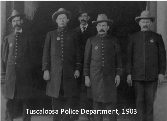 Tuscaloosa Police Department, 1903