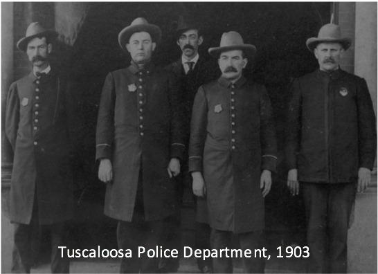 Tuscaloosa Police Department, 1903
