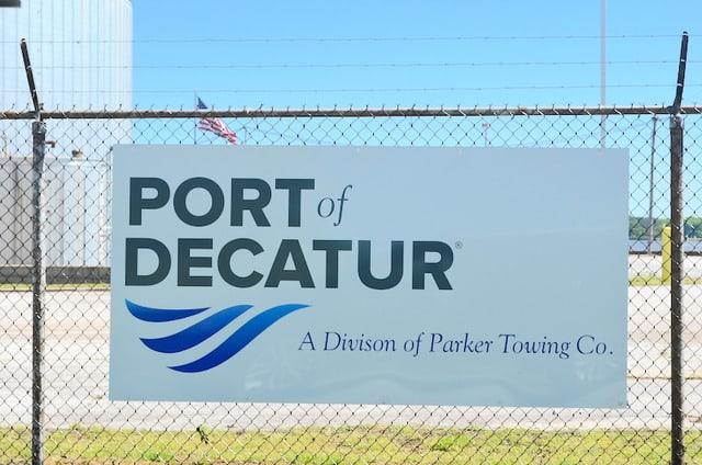 Port of Decatur Entrance