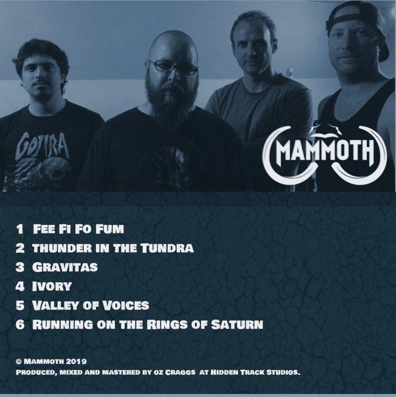 Gravitas EP back cover