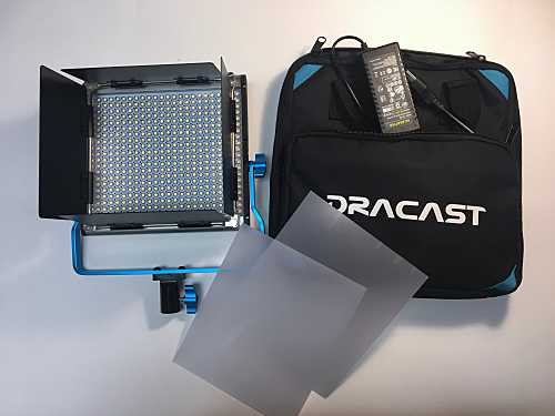 Dracast LED500 Bicolor LED Light