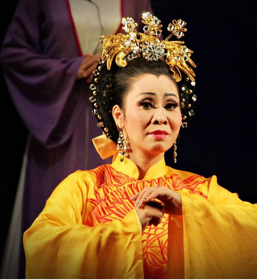 NSƯT Thiên Hoa trong một vai diễn.