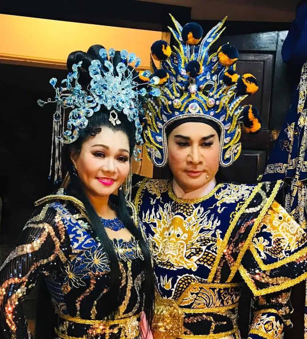Kim Tử Long và Ngọc Huyền