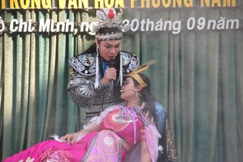 Hai nghệ sĩ trong vai Trọng Thủy-Mị Châu