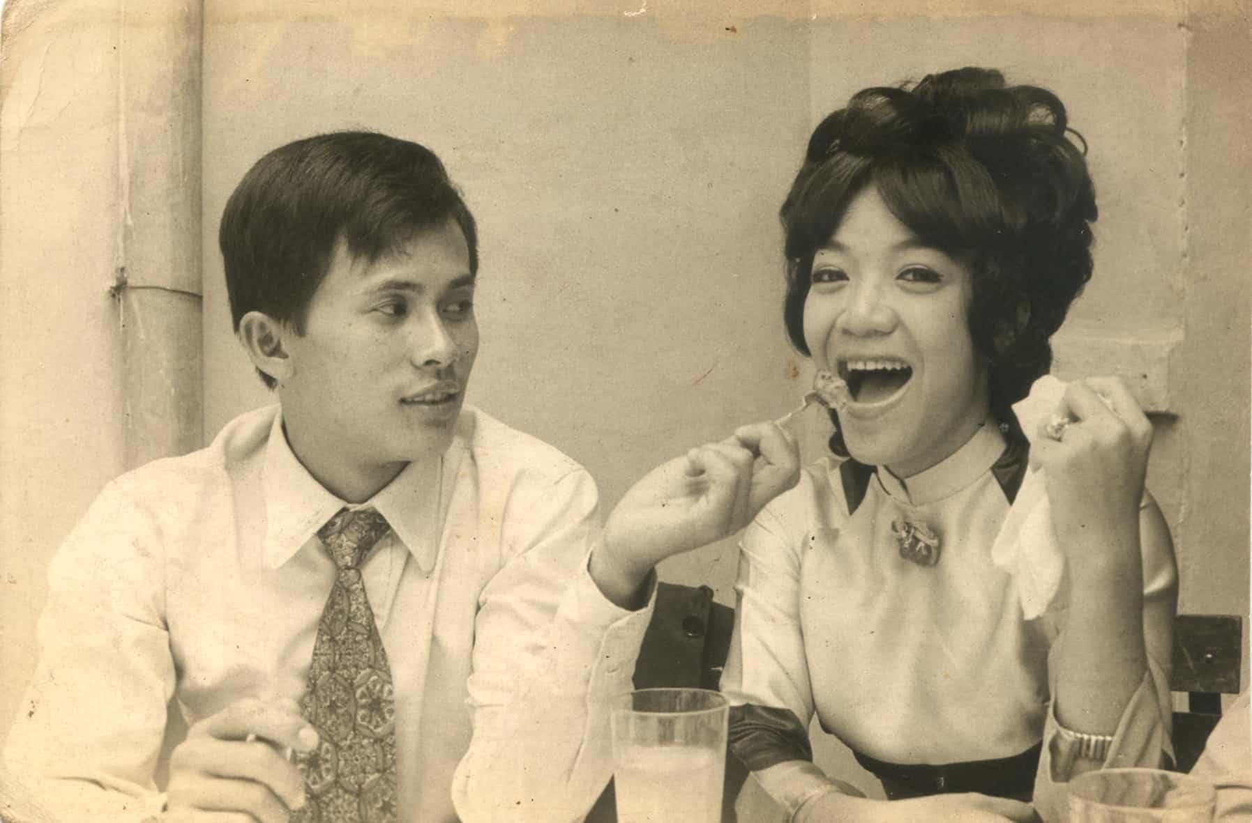 NS Hoài Thanh và Đỗ Quyên lúc còn mới yêu nhau