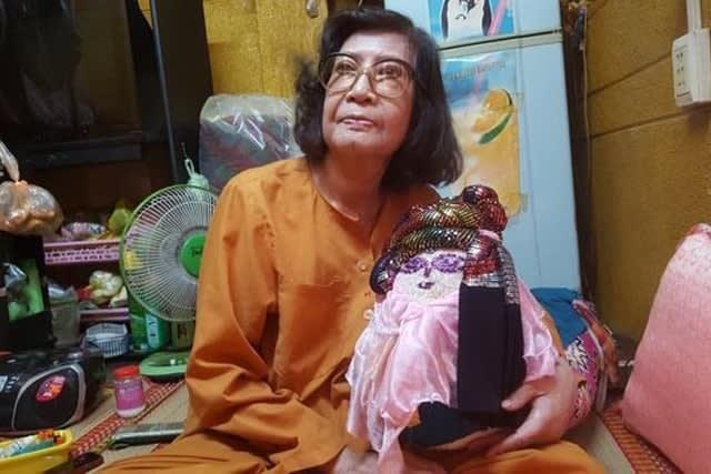 Tuổi xế chiều của NSƯT Diệu Hiền là những tháng ngày chống chọi với bệnh tật, thậm chí là không có đủ tiền mua thuốc điều trị - Ảnh: Linh Huỳnh