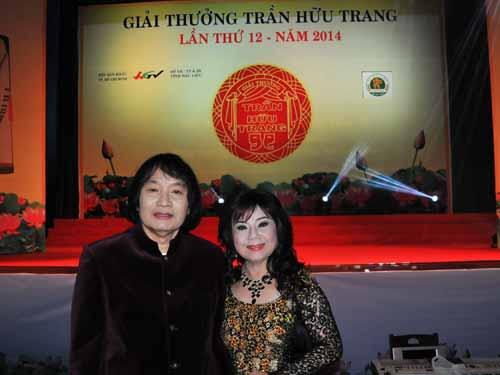NSƯT Minh Vương, Thoại Miêu trong Hội đồng nghệ thuật chuyên môn giải thưởng Trần Hữu Trang lần thứ 12.
