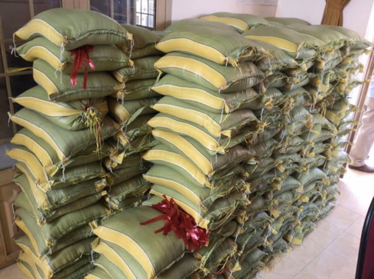 NSND Lệ Thủy tặng gạo cho nghệ sĩ nghèo, Hữu Nghĩa tặng cơm cho người khuyết tật - Ảnh 2.