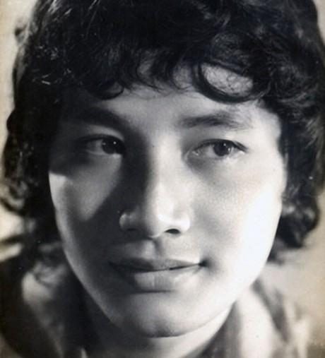 Nghệ sĩ cải lương Minh Vương thời trẻ