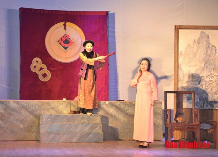 """Nhà hát Nghệ thuật truyền thống Thanh Hóa phục dựng vở cải lương """"Kêu cứu"""""""