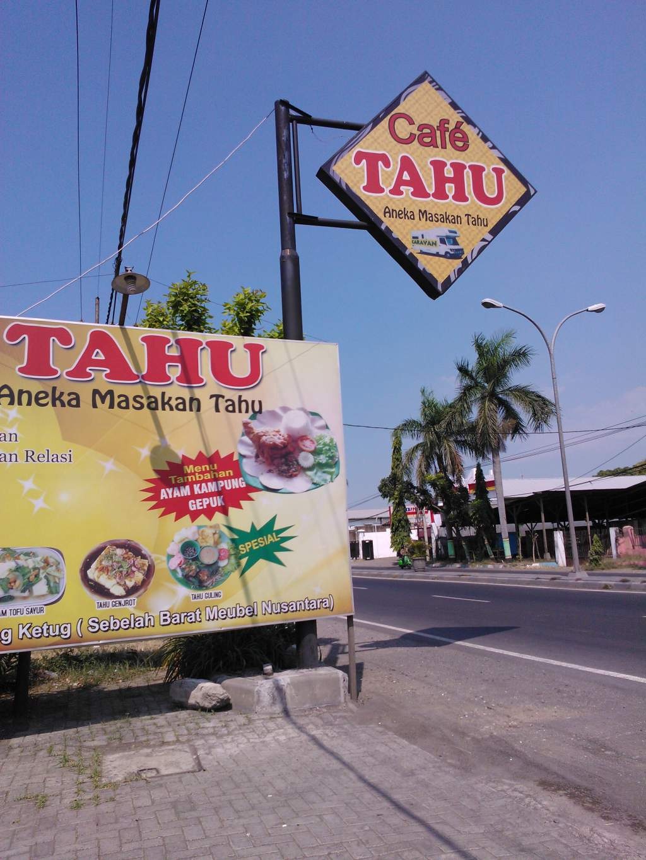 Reklame Cafe Tahu