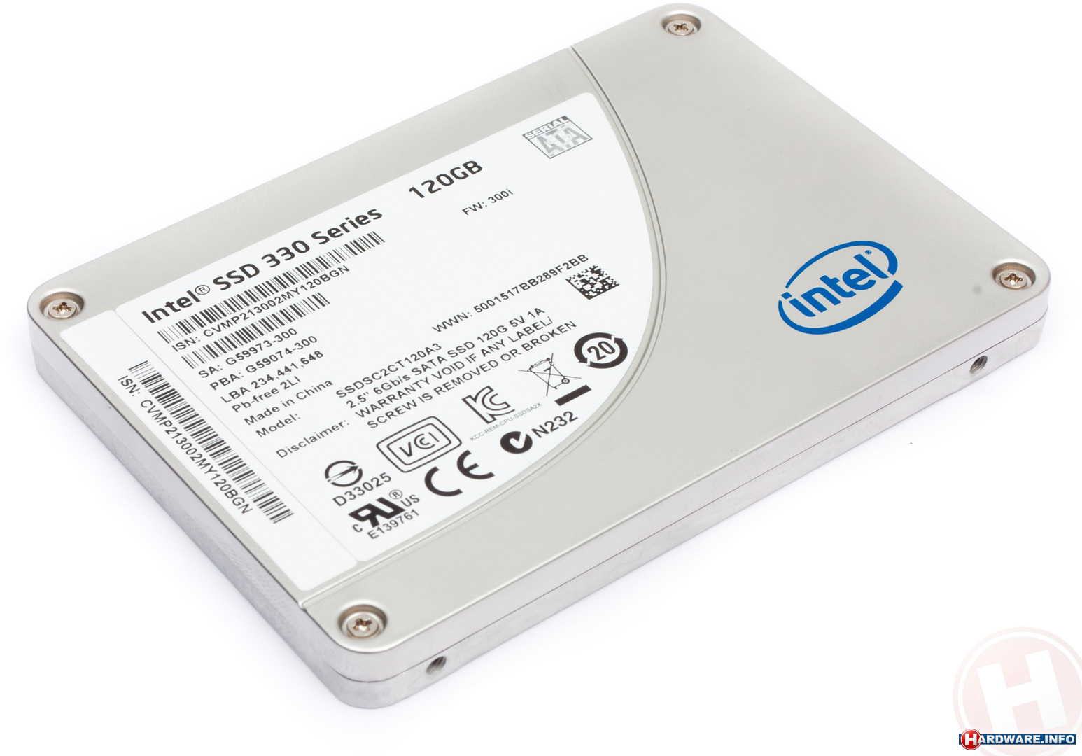 INTEL Solid State 180GB [520 Series]