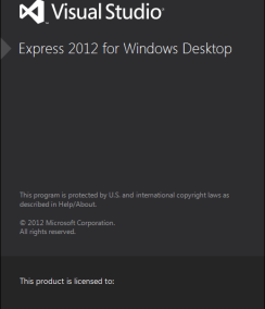 Visual Basic 2012 Express for Desktop