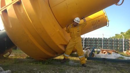 material man dan buoy