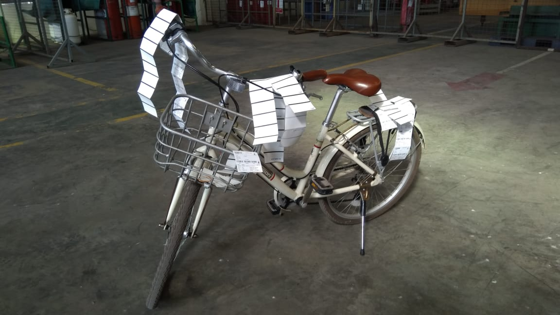 sepeda kayuh material man