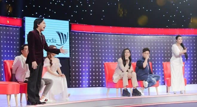 Kim Tử Long 'khẩu chiến' với Ngọc Huyền trên sóng truyền hình