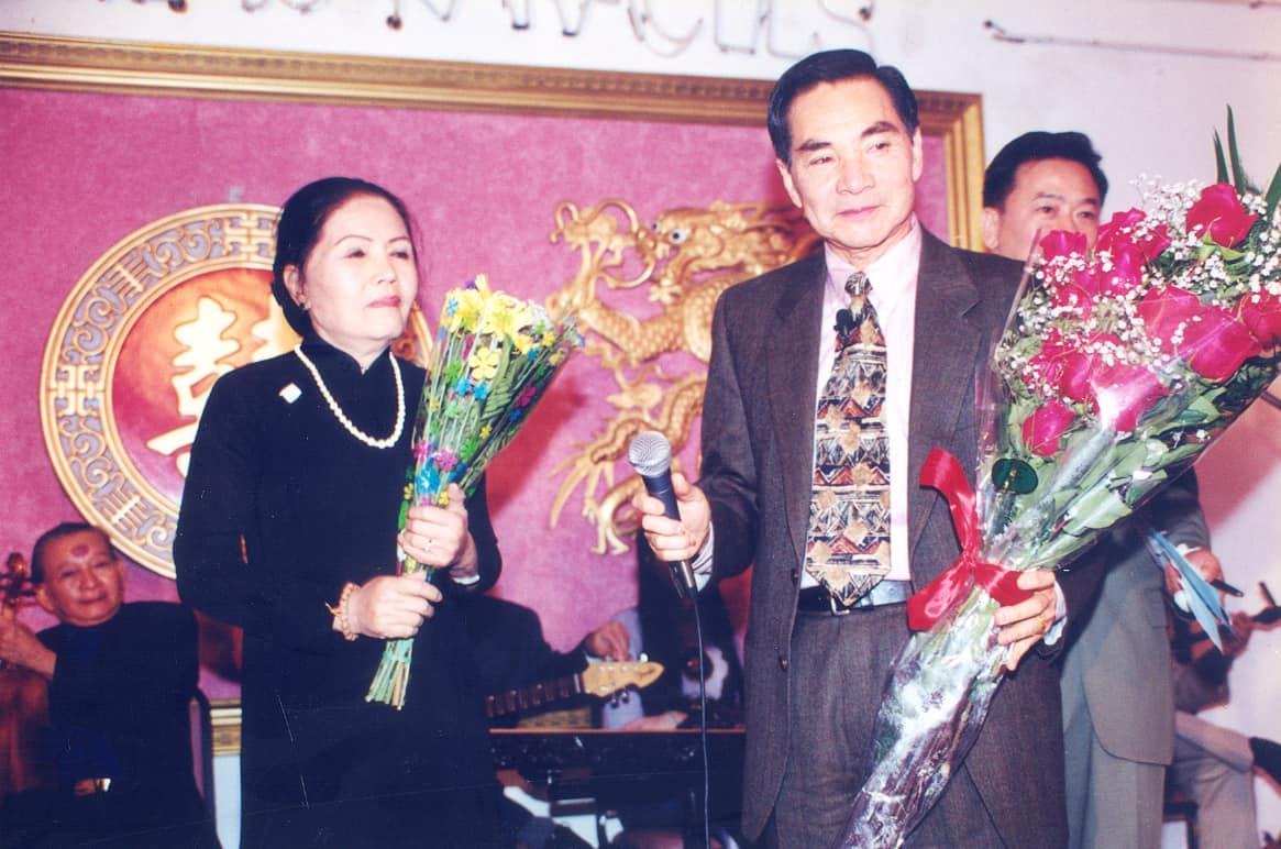 NS Thành Được và Út Bạch Lan trong cuộc hội ngộ năm 1998 tại Mỹ