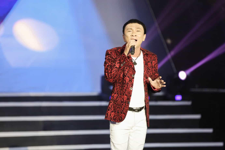 Nghệ sĩ Dũng Nhí với giọng hát ngọt ngào đầy nội lực.